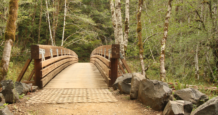Elliott Creek Trail Bridge