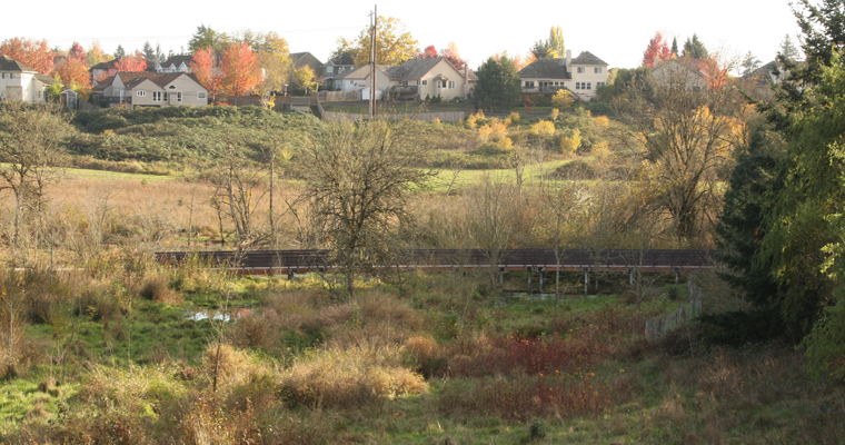THPRD Graf Meadows Trail