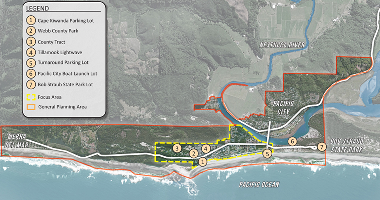 Overview of the Cape Kiwanda Master Plan
