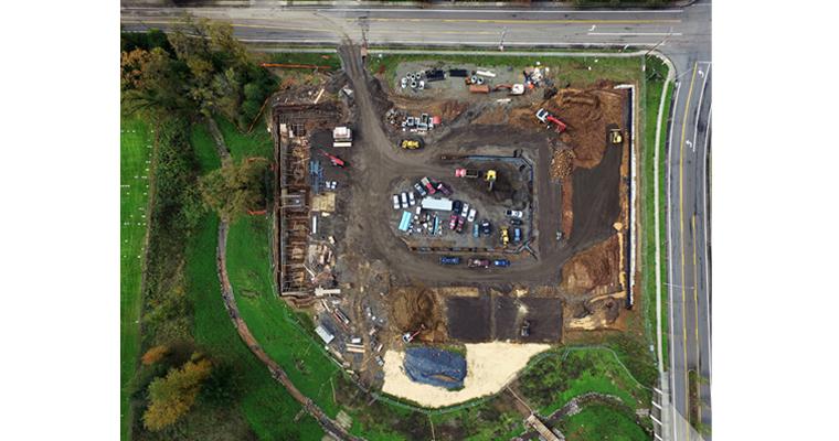 Stevens Creek Apartments Aerial View 4